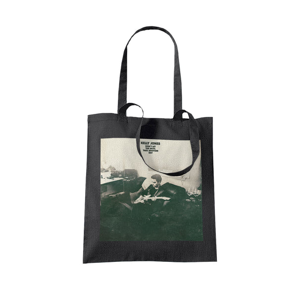 DEVIL ALBUM BLACK TOTE
