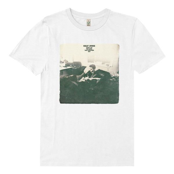 DEVIL ALBUM VINTAGE WHITE T-SHIRT