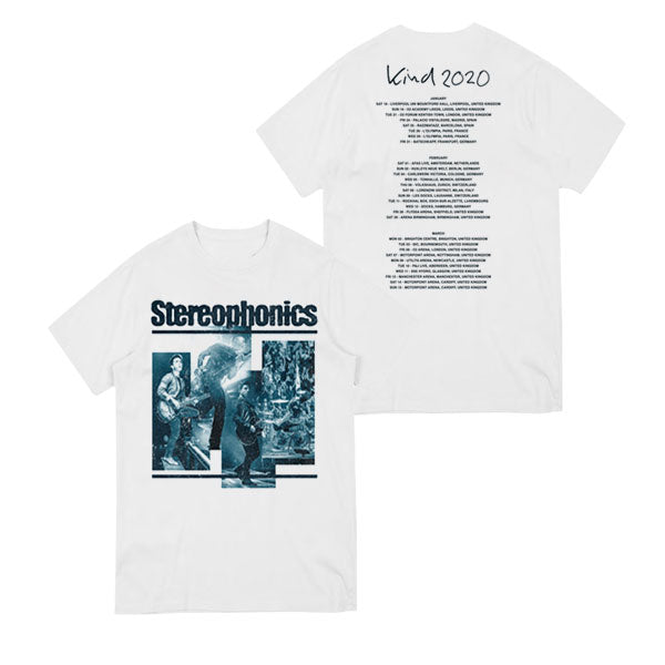 KIND 2020 TOUR WHITE T-SHIRT