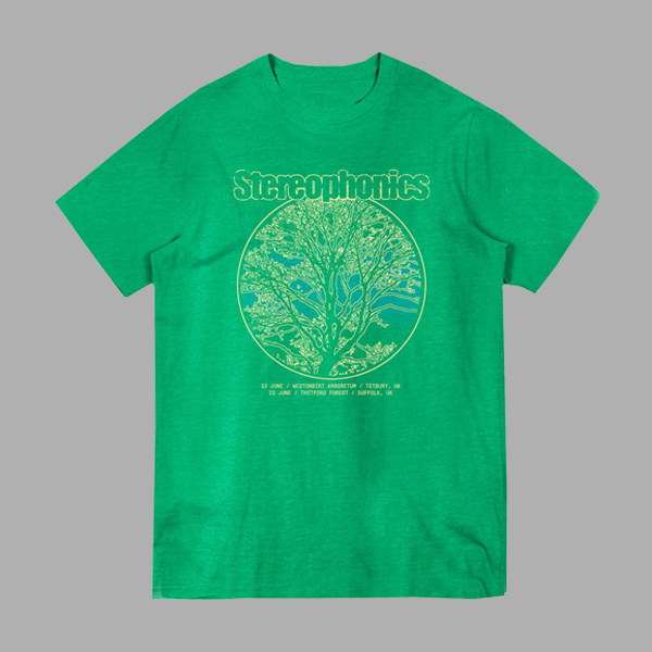 FOREST EVENT KELLY GREEN T-SHIRT