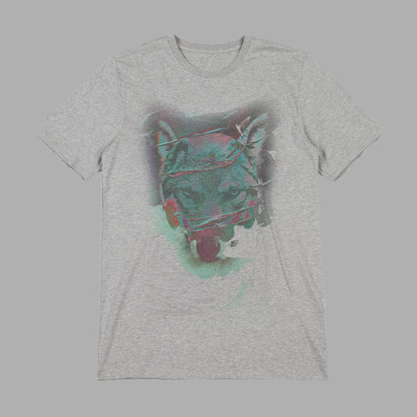SCREAM ABOVE THE SOUNDS GREY MARL T-SHIRT