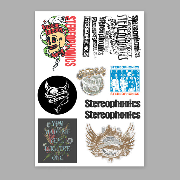 STEREOPHONICS 2019 STICKER SET