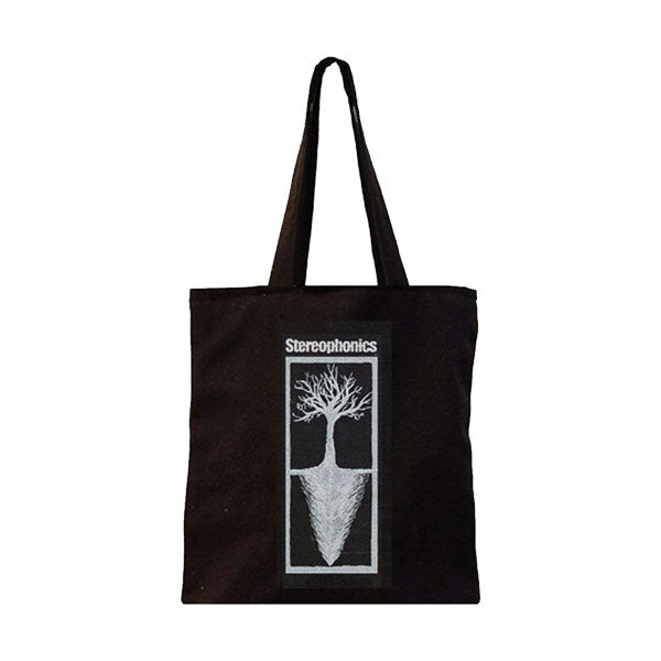 KIND TREE BLACK TOTE BAG