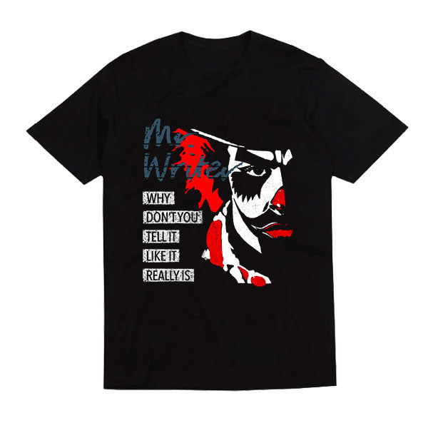 MR WRITER BLACK T-SHIRT