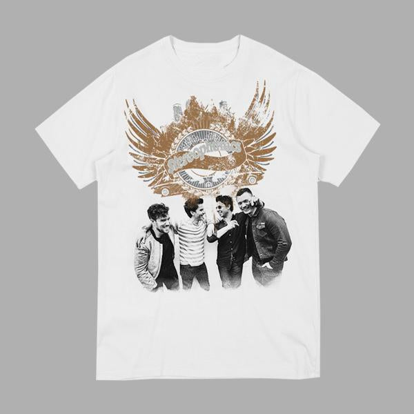 WINGED BAND WHITE T-SHIRT