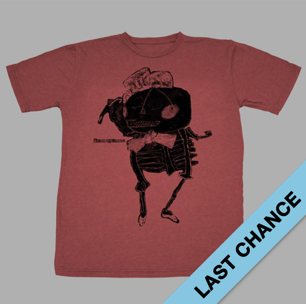 RED SKELETON T-SHIRT