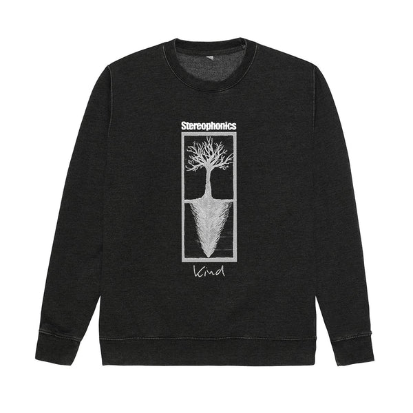 KIND TREE BLACK CREW NECK SWEAT