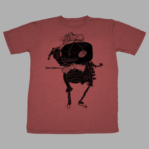 RED SKELETON TSHIRT