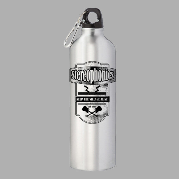 BIKER EMBLEM WATER BOTTLE