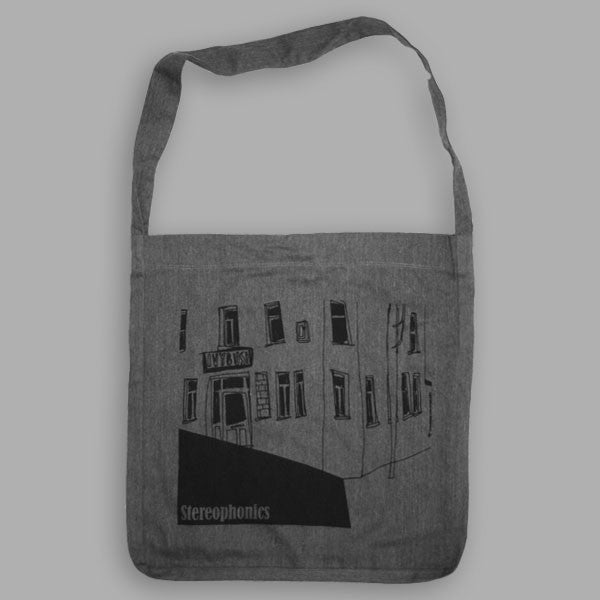 CHARCOAL IVYBUSH TOTE BAG