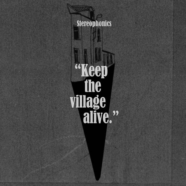 KEEP THE VILLAGE ALIVE STANDARD CD ALBUM