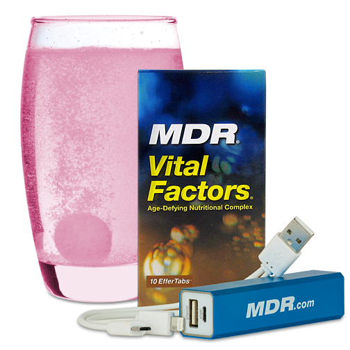 Vital Factors 10-Day Trial + Free Charger for $5