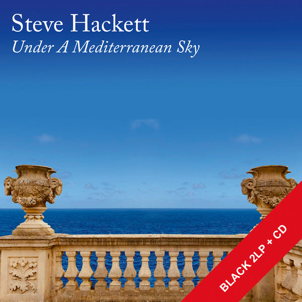 UNDER A MEDITERRANEAN SKY - BLACK LP + CD