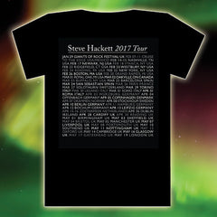 WIND & WUTHERING INSPIRED 2017 TOUR BLACK T-SHIRT