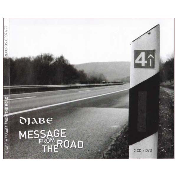 Djabe- Message From The Road CD + DVD