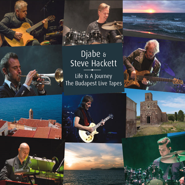 LIFE IS A JOURNEY: THE BUDAPEST LIVE TAPES  2CD/DVD