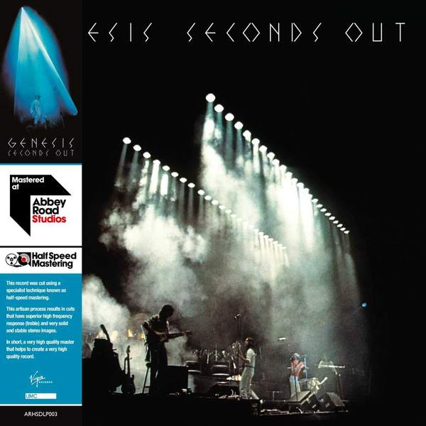 GENESIS - SECONDS OUT 2LP (Unsigned)