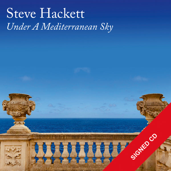 UNDER A MEDITERRANEAN SKY - CD - SIGNED