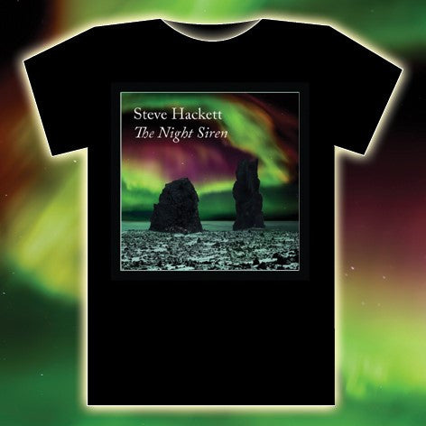 THE NIGHT SIREN 2017 TOUR BLACK T-SHIRT