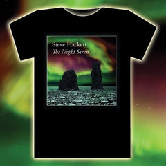THE NIGHT SIREN BLACK T-SHIRT