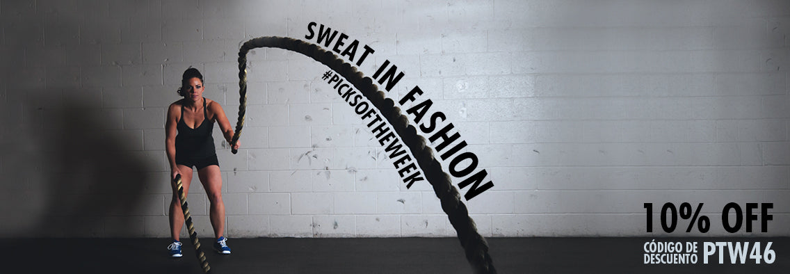 Sweat in fashion