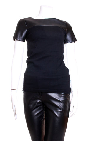 Blusa Semi-Formal Black Saks Fifth Avenue