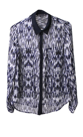 Blusa Camisera Armani Exchange