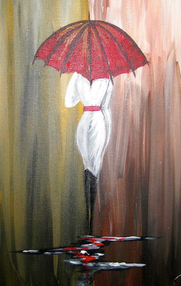"Sept 23, 2016, Fri, 7-9 pm, ""Strutting in the Rain"" Public Wine & Paint Class in Atlanta / Sandy Springs"