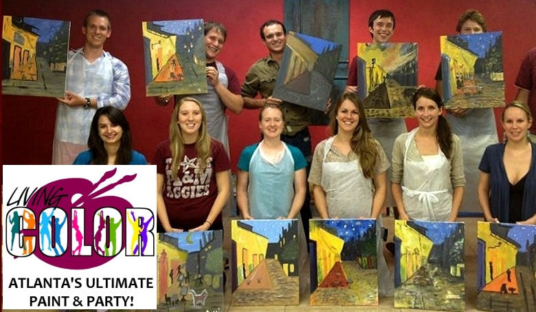 Sep 9, 2017, Sat, 6:00-9:00pm,  -Private Party- Wine & Paint Class in Atlanta / Sandy Springs