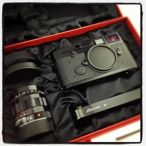The finest special edition Leica set ever made…Leica MP3