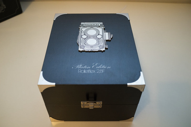 Rolleiflex Platin Platinum camera…why have gold when you have PLATINUM