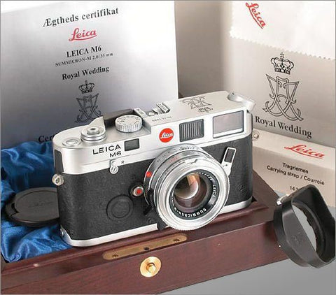 Royalty is cheaper than you think…Leica M6 Danish Royal