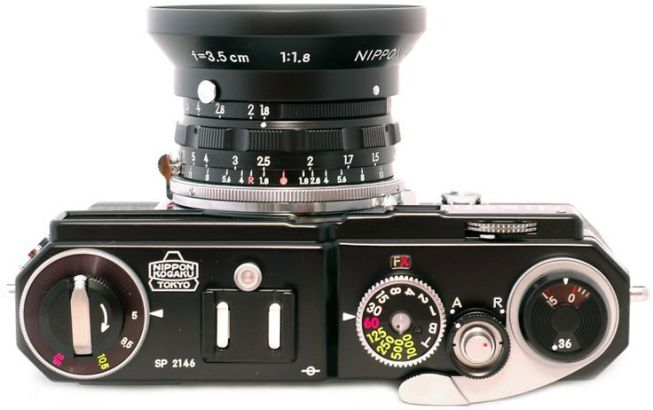 Nikon SP black paint Limited Edition set…Very cool retro remake!