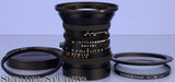 HASSELBLAD ZEISS DISTAGON 40MM F4 FLE CF T* BLACK LENS +CAPS +FILTER MINT