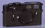 Leica Leitz M4 50 Jahre Ann Black Rangefinder Camera Body with Cap Rare Near Mint