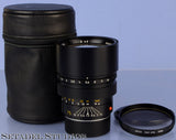 LEICA LEITZ 75MM SUMMILUX-M 11815 F1.4 LATE # CANADA LENS +CAPS +CASE +FILTER