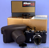 NIKON S3 BLACK LIMITED EDITION CAMERA +50MM NIKKOR-S F1.4 +BOX +SHADE NEW RARE!