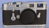 LEICA M3 DS TRANSITIONAL CHROME RANGEFINDER CAMERA BODY +CAP +CLEAN NICE
