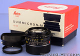 LEICA 35MM F2 SUMMICRON-M 4TH VERSION M 11310 LENS *KING OF BOKEH +SHADE +BOX