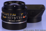 LEICA LEITZ 28MM ELMARIT-R F2.8 3CAM 11204 BLACK R LENS VERSION 1 +HOOD +CAP