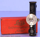 LEICA LEITZ FOKOS BLACK PAINT +CHROME CAMERA RANGEFINDER W/ BOX CLEAN RARE!