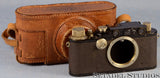LEICA LEITZ III (MODEL F) BLACK PAINT RANGEFINDER CAMERA BODY