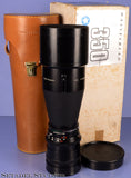 HASSELBLAD ZEISS TELE-TESSAR 350MM F5.6 C T* LENS +CAP +CASE +MATCHING BOX NICE!