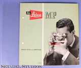 LEICA LEITZ MP ORIGINAL CAMERA LEICAVIT M GERMAN BROCHURE MINT RARE