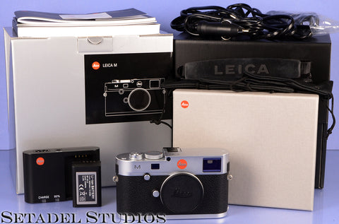 LEICA M(240) M240 100 YEARS LIMITED EDITION JAHRE 24MP CHROME BODY +BOX MINT!