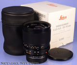 LEICA 28-70MM VARIO-ELMAR-R F3.5-4.5 11265 2CAM BLACK R LENS +BOX +CAPS MINT