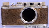 Leica Leitz II (Model D) Chrome SM Screw Mount Rangefinder Camera Body