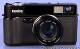 KONICA HEXAR AF BLACK RANGEFINDER FILM CAMERA +35MM F2 LENS RARE #001