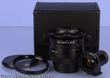 CONTAX ZEISS BIOGON BLACK 21MM F2.8 T* G CAMERA LENS +FINDER +FILTER +CASE MINT
