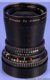 HASSELBLAD CARL ZEISS 50MM DISTAGON F4 BLACK C T* LENS 104148 +CAP CLEAN NICE